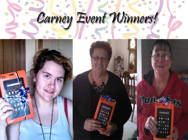 Carney Event Winners